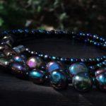 Volcanic & Glass Beaded Lanyard $20.99